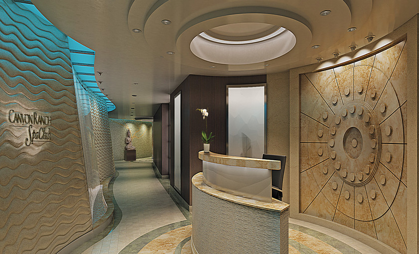 Spa-Club-Luxus-Reederei Oceania