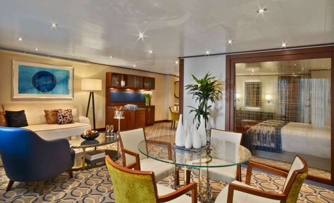Owners Suite an Bord der Seabourn Encore