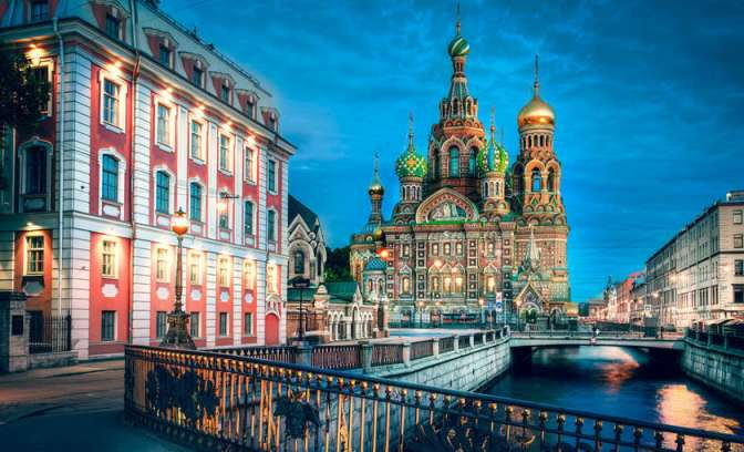 Kirche of Spilled Blood